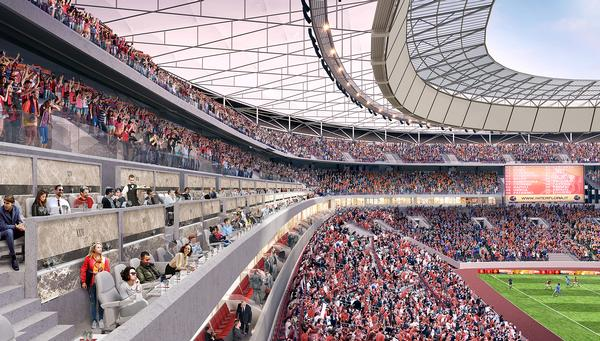 Meis has a number of high-profile projects in the pipeline, including a new home for AS Roma