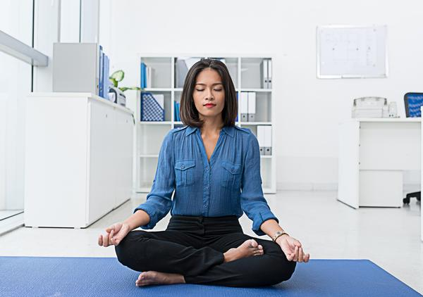 Workplace mindfulness programmes have been shown to boost productivity / PHOTO: SHUTTERSTOCK.COM
