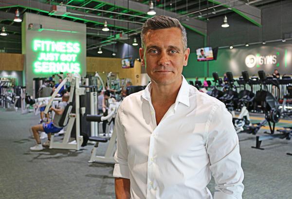 The JD Gyms club interiors take inspiraton from modern retail design