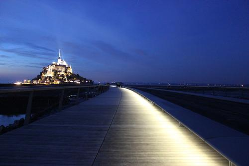 Jetty bridge to UNESCO's Mont Saint Michel now open