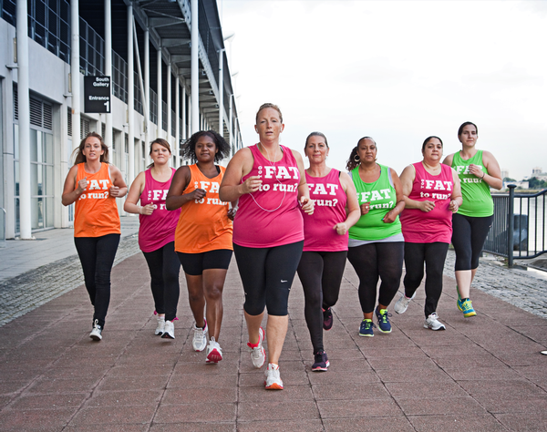 Too Fat to Run supports women to exercise / Photo: toofattorun.co.uk