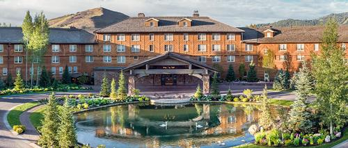 Sun Valley Resort adds three-storey spa to its site in Idaho