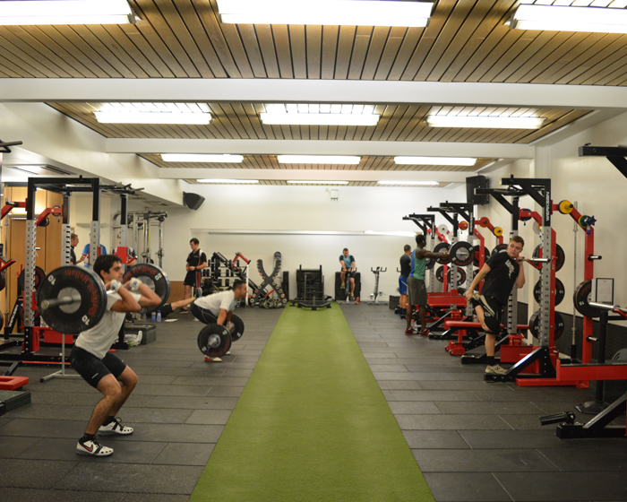 Student gyms are going from strength to strength