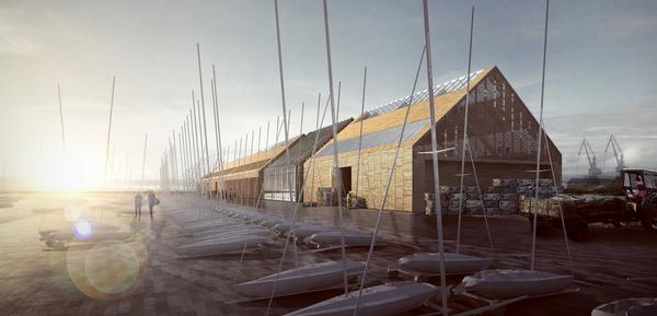 FaulknerBrowns are involved in the Swansea Tidal Lagoon project and have designed the water sports centre and oyster hatchery