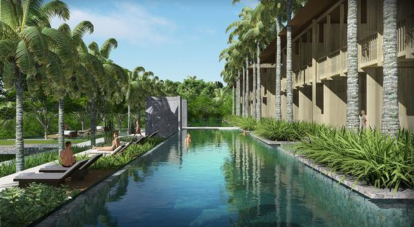 The Retreat will feature a substantial wellness centre with 45 treatment rooms