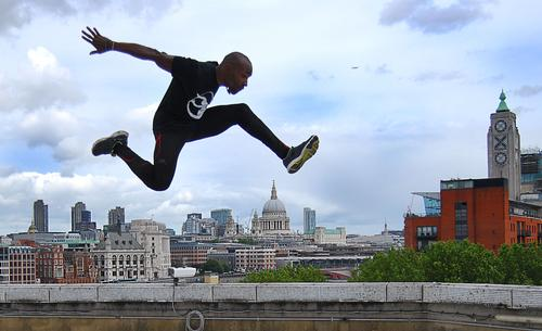 Film star Foucan to launch freerunning academy