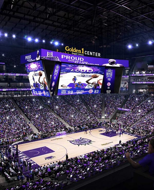 The Golden 1 Center will open in time for the 2016-17 NBA season