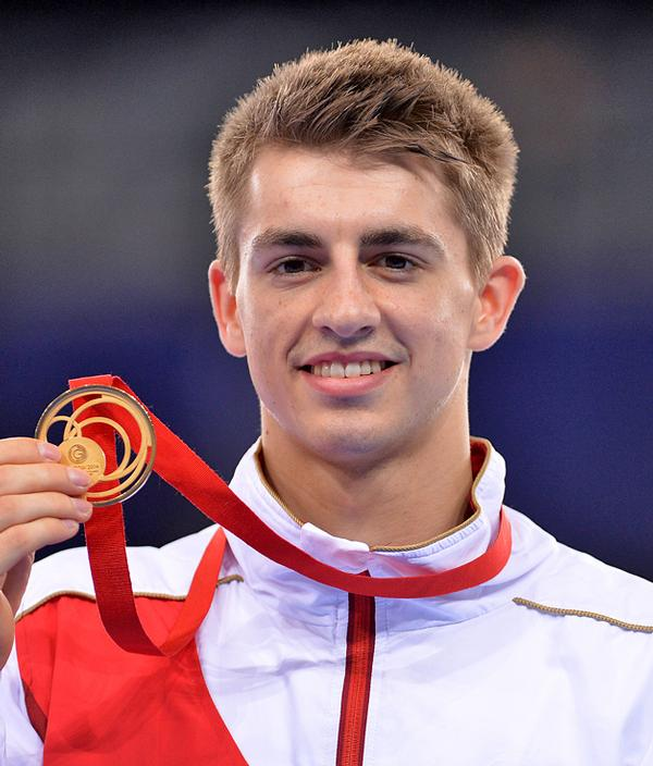 Max Whitlock is a five-time Olympic medallist in gymnastics / © Dominic Lipinski/PA Wire/PA Images