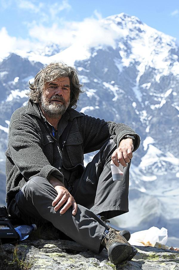 Italian mountaineer and explorer Reinhold Messner / PHOTO: Joern Haufe/AP/Press Association Images