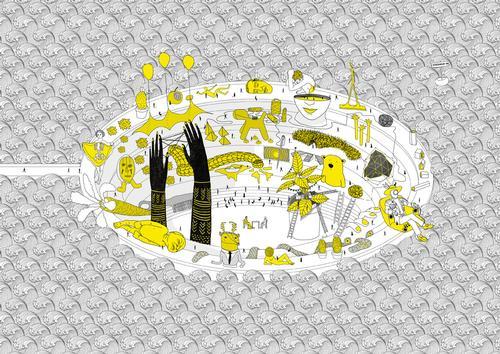 A concept design from Tomáš Boroš' Helsinki INAC proposal