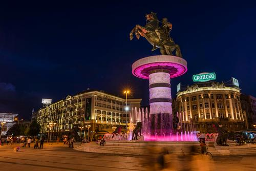 Macedonia searches for national identity as capital undergoes controversial €500m cultural revamp