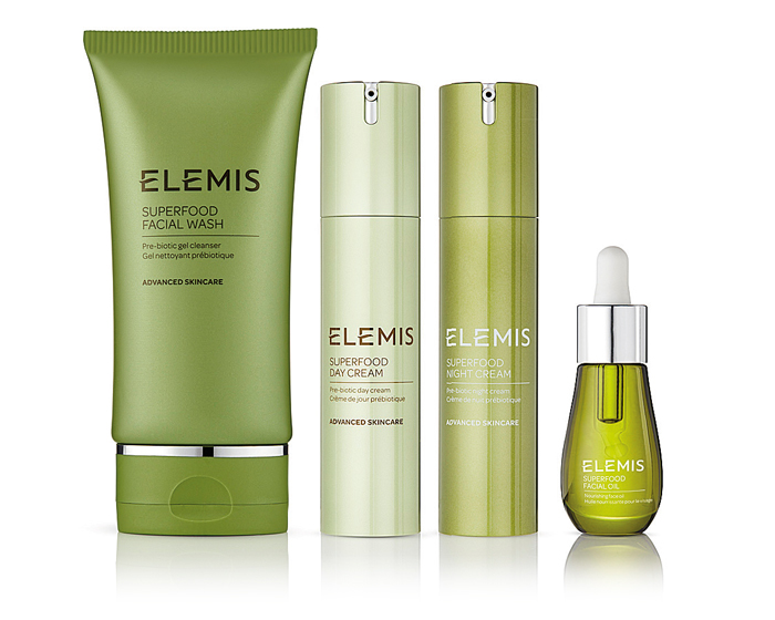 Elemis launches vegan-friendly Superfood skincare range