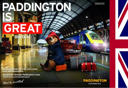 VisitBritain launches GREAT campaign for Paddington film