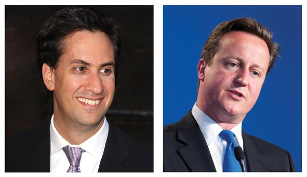Miliband's speech was 'lacklustre', while Cameron's was his 'best to date', say critics / PHOTOS: SHUTTERSTOCK.COM