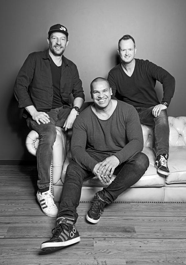 Marcus Adam, Oliver Schulokat & Pierre Geisensetter