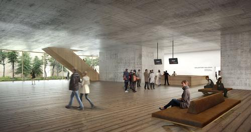 The plans will double the institution's exhibition footprint / Herzog and de Meuron