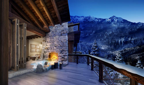 New thermal spa to open in the heart of the Alps