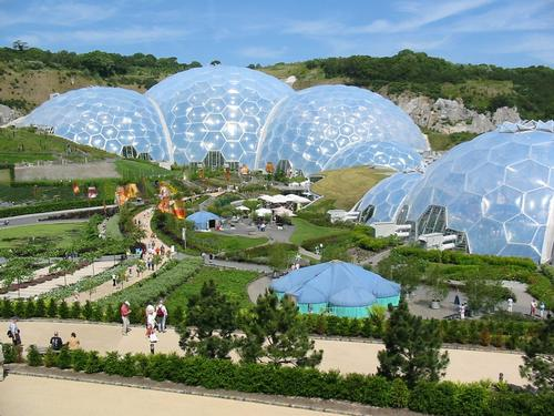 The Eden project has proved highly successful since its 2003 debut, averaging more than one million visitors a year
