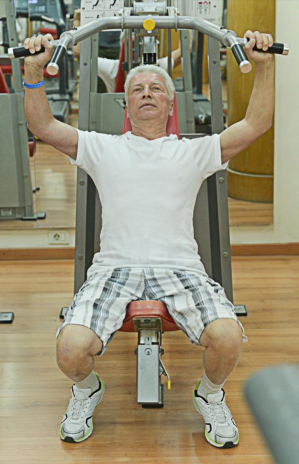 Strength training: A wide range of benefits in older age / PHOTOS: SHUTTERSTOCK.COM