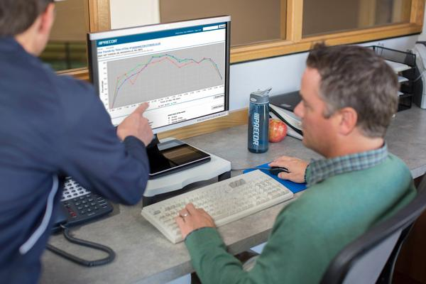 Precor's Preva allows operators to monitor equipment usage by time of day