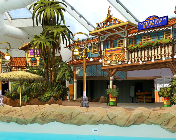 Jora Vision creates tropical paradise at Walibi Belgium