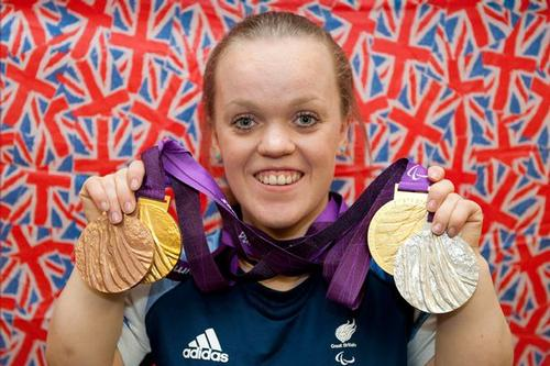Paralympian swimmer and role model, Ellie Simmonds