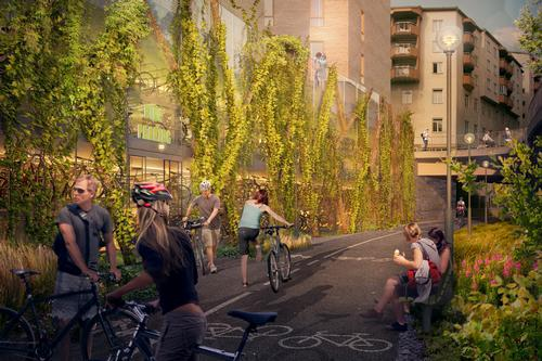Innovative designs unveiled for Stockholm cycling centre