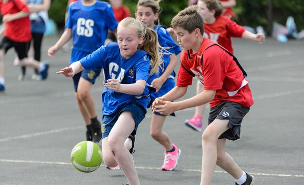 Physical activity is thought to improve academic outcomes / Photo: Sport england
