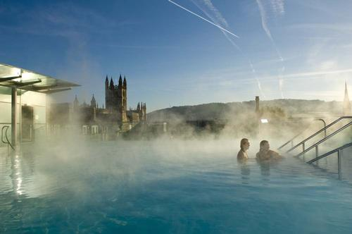 The campaign hopes to attract visitors seeking a post-Christmas pick-me-up / www.visitbath.co.uk
