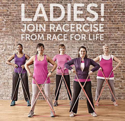 Cancer Research UK launches women-only Race For Life fitness class