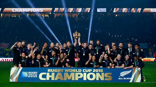 2.5m tickets were sold for the Rugby World Cup, with 460k bought by overseas fans / Rugby World Cup