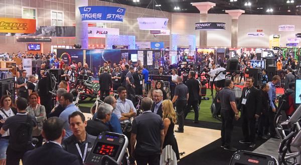 This year's show welcomed 376 trade exhibitors / PHOTOS: IHRSA/THE PHOTO GROUP