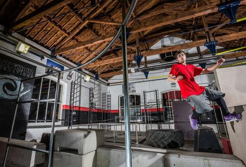 The new Chainstore Parkour Academy in east London / Ben Curwen Photography