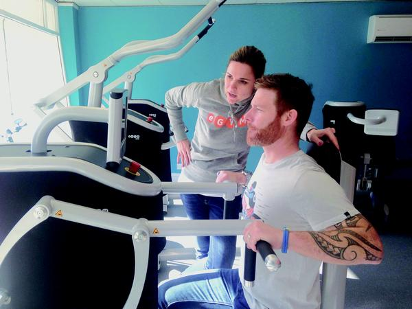 eGym's software can detect any muscle imbalances in the user