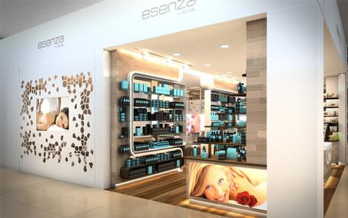 These mini clinics will adapt treatments to travellers' demands and the amount of time they have before departure / Esenza by SHA