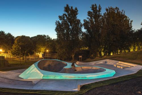 The facility has been designed to provide skaters with a place to experiment / Liverpool Biennial