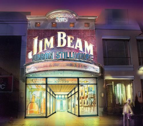 The multi-milion dollar attraction is scheduled to open towards the end of 2015 / Beam Suntory/Jack Rouse Associates