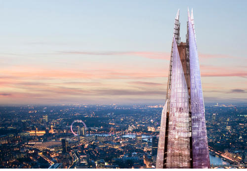 Viewing galleries 800ft (244m) up The Shard offer 360-degree views of London / © The View from The Shard