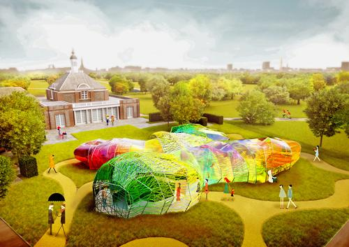 SelgasCano's pavilion will be a colourful explosion in the heart of the the Royal Park / SelgasCano