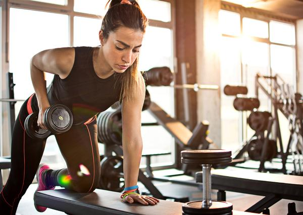 People who work out on their own are more likely to leave a club / PHOTO: SHUTTERSTOCK.COM