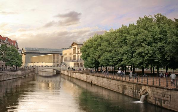 DCA's James Simon Galerie forms a key part of the Museum Island masterplan
