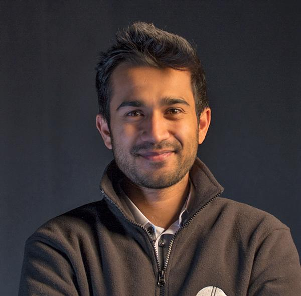 Runish Gudhka, co-founder of Batfast and former cricketer