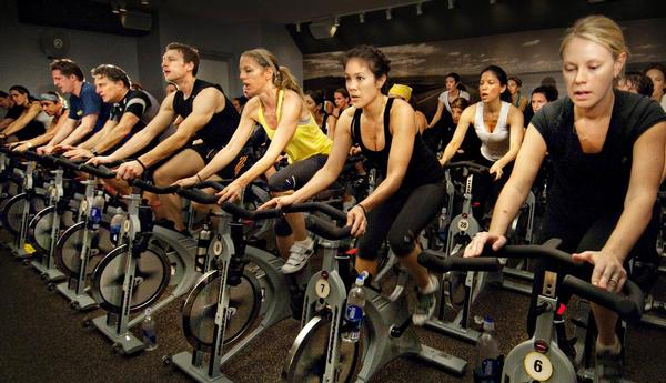 SoulCycle provides communal locker rooms for members  at some of its New York sites / PHOTO: www.soul-cycle.com