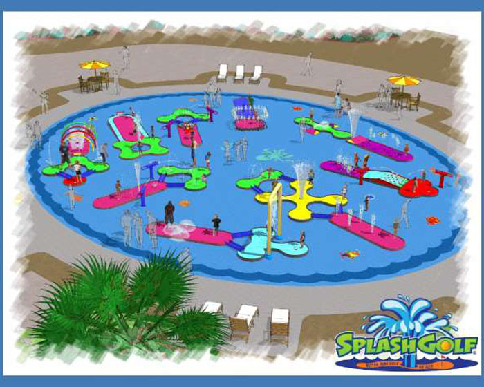 Making a splash with new adventure golf attraction