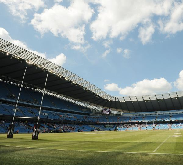 The City of Manchester Stadium has a rich tradition of hosting rugby games over the years