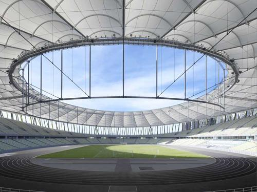 Bao'An Stadium in Shenzhen - one of the winners