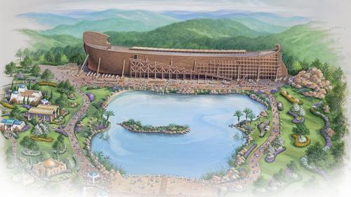 The biblical park is set to open in 2016 / Answers in Genesis