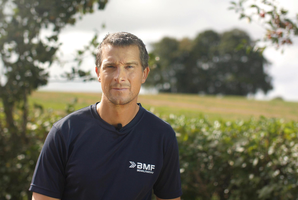 Grylls has earned a following for his feats of endurance