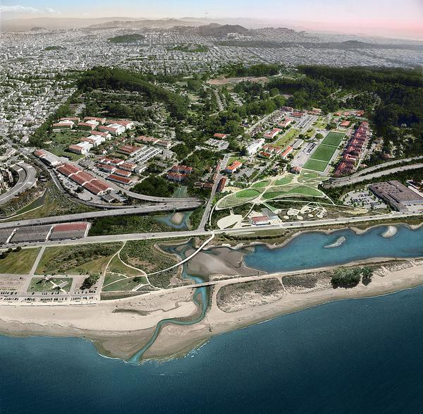 The competition to design the Parklands was launched by the Presidio Trust