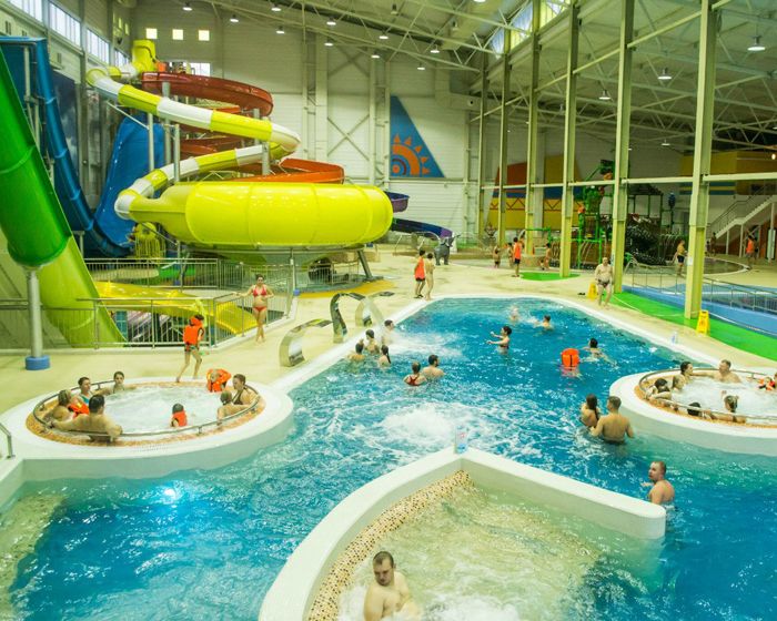 Polin Supplies Rides For Russia S Newest Waterpark
